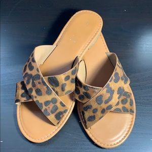 Shoes - Animal print sandals